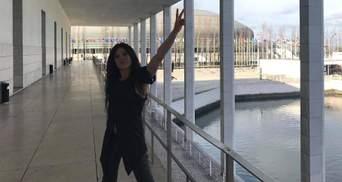 Руслана показала, як Лісабон готується до Євробачення-2018: фото, відео