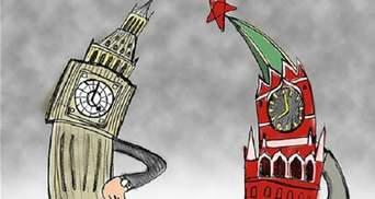 Росія вимагає від Британії скоротити понад 50 її дипломатів у РФ