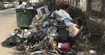 Оккупированный Крым утопает в мусоре: фото из Симферополя