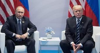 "Трамп ""дал пинка"" Путину: New York Post показал забавную карикатуру"