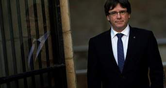 Германия хочет экстрадировать Пучдемона в Испанию