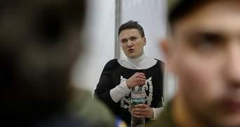 Савченко проходить перевірку на поліграфі: з'явилися деталі