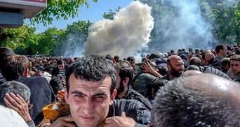 Масові протести у Єревані: є перші потерпілі