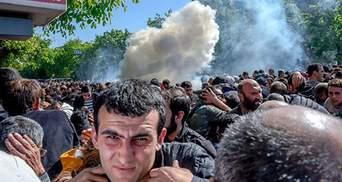 Массовые протесты в Ереване: есть первые пострадавшие