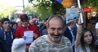 У Єревані поліція затримала 84 учасників акції протесту