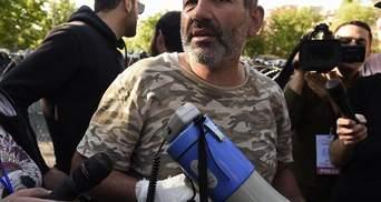 Сутички в Єревані: затримано лідера опозиційного руху Пашиняна