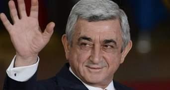 Бувай, Саргсян: Вірменія святкує відставку прем'єр-міністра