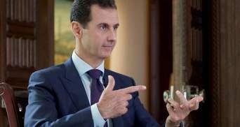 Асад обговорив військову операцію Заходу у Сирії з партією Путіна