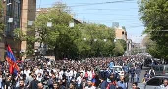 Чому вірмени продовжують протести навіть після відставки Саргсяна
