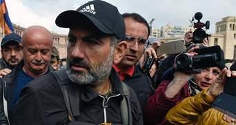 Лидер оппозиции и протестов в Ереване Никол Пашинян хочет возглавить временное правительство