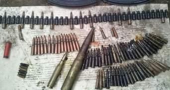 На Трухановому острові виявили великий схрон зброї