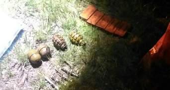На Трухановом острове обнаружили большой схрон оружия