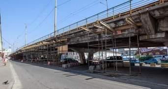 У Києві почалась реконструкція Шулявського моста: схема об'їзду