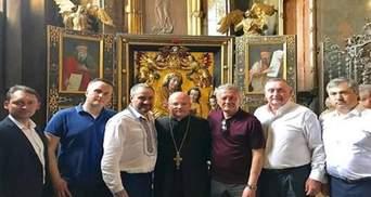Антикорупціонер Холодницький засвітився на фото зі скандальним Дубневичем у Львові