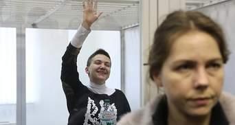 Опубликовали фото Савченко в наручниках из СИЗО