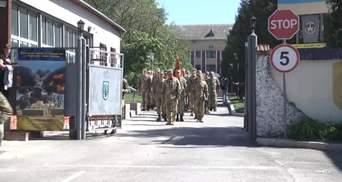 Зі Сходу повернулися бійці 44 окремої артилерійської бригади