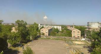 Пожар на военных складах в Балаклее: в ГСЧС отчитались о текущей ситуции