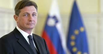 11 мая в Украину с рабочим визитом приедет президент Словении Борут Пахор