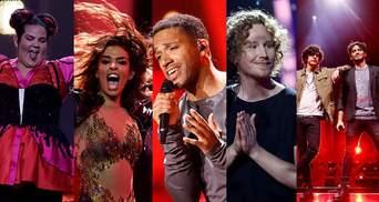 Евровидение 2018: видео выступлений первой пятерки призеров конкурса