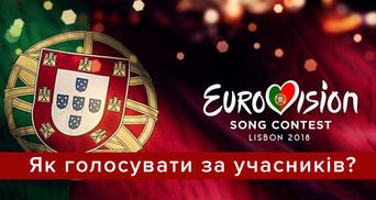 Евровидение 2018: как голосовать за участников