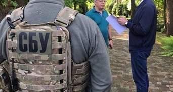 Обыск в Симоненко: СБУ изъяла пистолет и агитки
