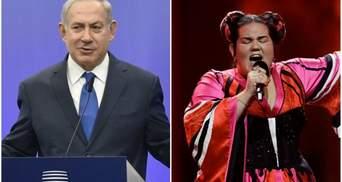 Премьер Израиля смешным жестом отреагировал на победу Нетты на Евровидении 2018: видео
