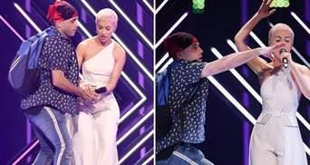 Организаторы Евровидения 2018 прокомментировали скандальное нападение на участницу