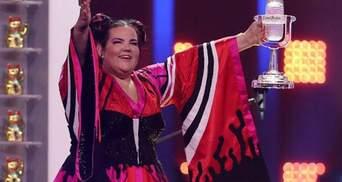 Переможниці Євробачення 2018 Нетті вручили новий кришталевий мікрофон: відома причина