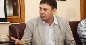 """Керівник """"РИА Новости Украина"""" Вишинський не визнає підозру у держзраді"""