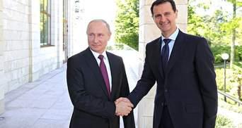 Путін зустрівся з Асадом: відомі теми розмови