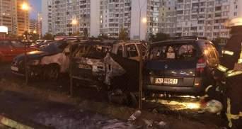 В Киеве ночью сожгли авто помощника Мосийчука: нардеп показал фото