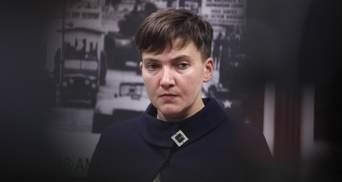 Савченко решила прекратить голодовку