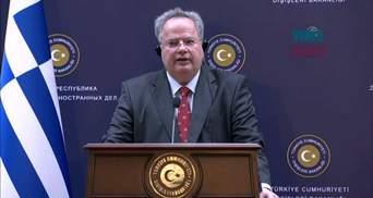 Главу МЗС Греції звинуватили у державній зраді через переговори щодо зміни назви Македонії