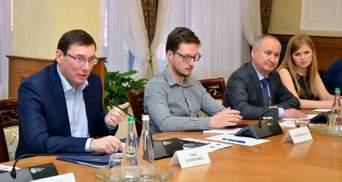 """Через """"вбивство"""" Бабченка Луценко з Грицаком мусили звітувати перед послами"""