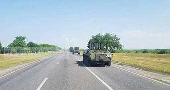Возле границы с Украиной зафиксировано немало российской военной техники: фото и видео