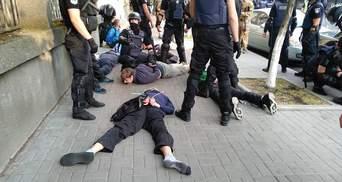 Марш равенства в Киеве: первые столкновения и более полусотни задержанных полицией