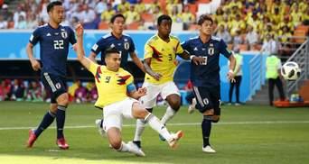 Колумбія у меншості поступилася Японії на Чемпіонаті світу
