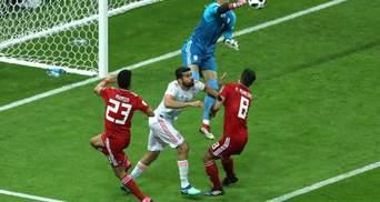 Іспанія перемогла Іран завдяки єдиному голу