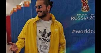 Співак з Колумбії приїхав вболівати за свою збірну на ЧС-2018: у Москві його пограбували