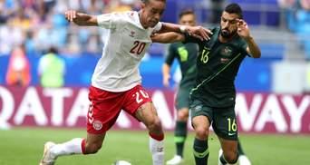 Данія та Австралія зіграли у нічию на Чемпіонаті світу