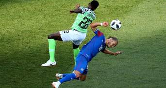 Збірна Нігерії обіграла Ісландію на Чемпіонаті світу