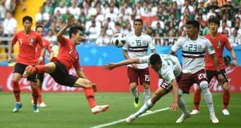 Збірна Мексики обіграла Південну Корею на Чемпіонаті світу
