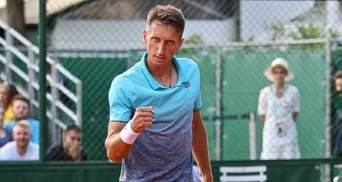Украинский теннисист Стаховский выиграл первый титул в сезоне