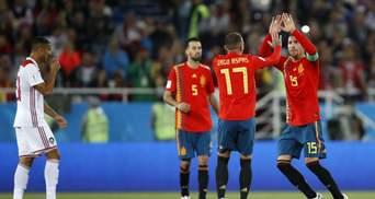 Іспанія врятувала нічию проти Марокко на останній хвилині матчу
