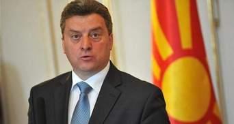 Президент Македонії не підписав угоду щодо зміни назви країни