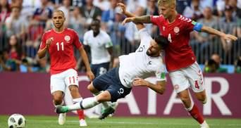 Франція та Данія зіграли першу нульову нічию на Чемпіонаті світу