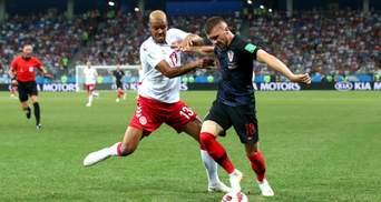 Хорватія у серії пенальті вирвала перемогу у Данії в 1/8 ЧС-2018