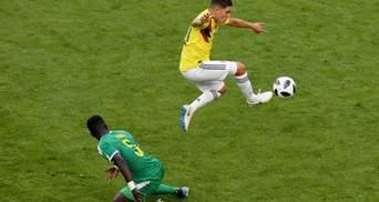 Колумбія обіграла Сенегал і вийшла в плей-оф Чемпіонату світу
