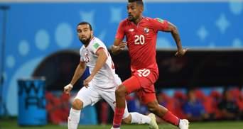 Туніс здобув вольову перемогу над Панамою після автоголу захисника