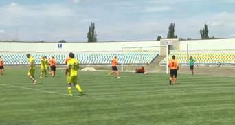 В Краматорске проходит чемпионат по футболу среди десантно-штурмовых подразделений Украины